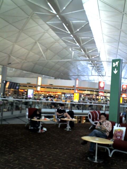 香港国際空港!