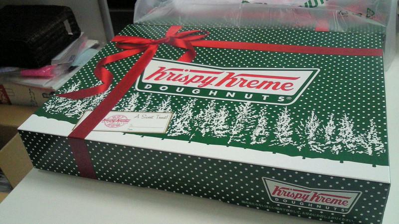 Krispy Kreme DOUGHNUTS!!!