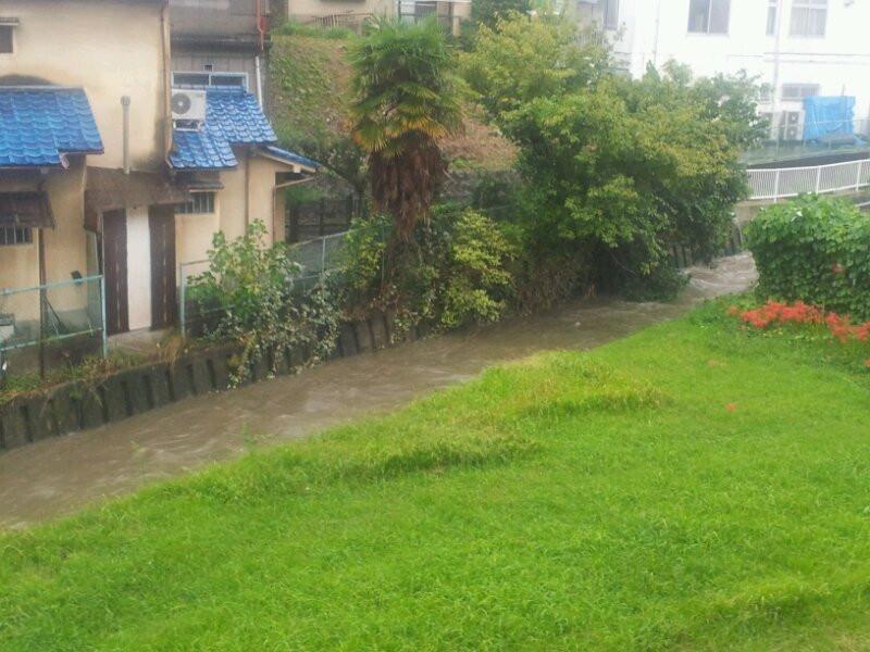 台風。。。