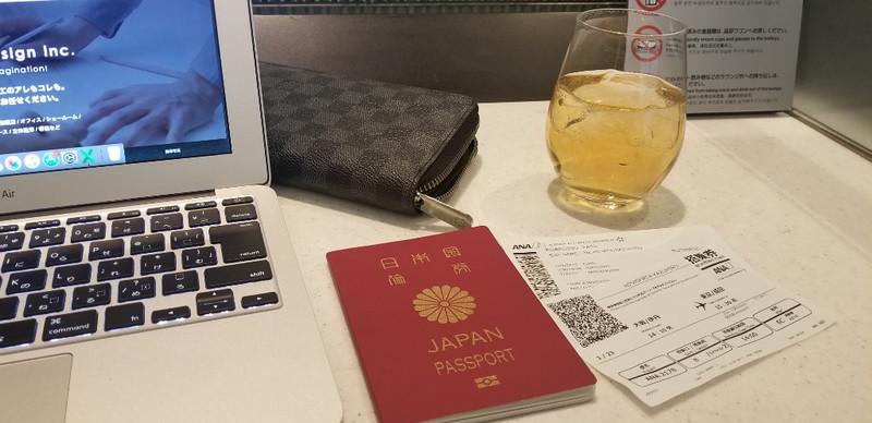 成田空港経由で・・・!