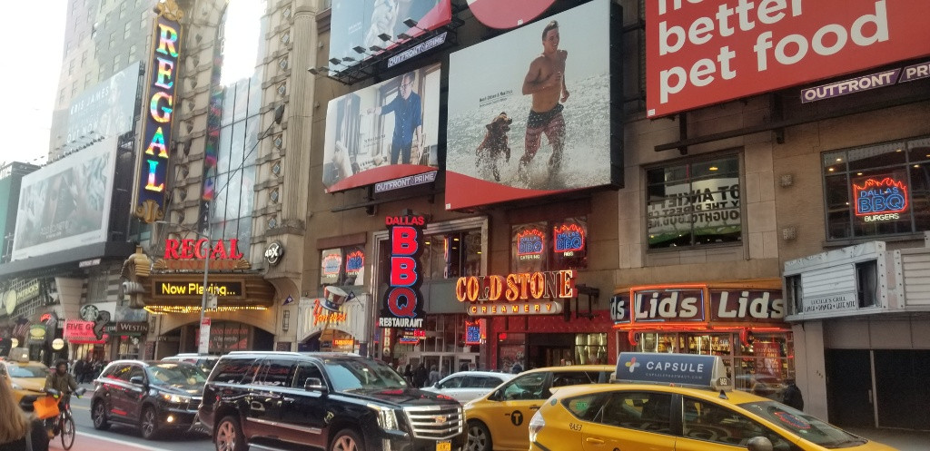 初ニューヨーク!